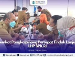 Pemkot Kebut Penyelesaian Rekomendasi LHP BPK Sebelum 14 Juni