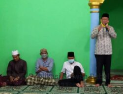 Anggota DPRD Babel Marsidi dan Toni Mukti Silaturahmi ke Masyarakat Air Gegas