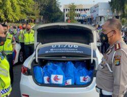 Jelang HUT Lantas ke-66, Polda Metro Jaya Bagikan 6.600 Paket Sembako
